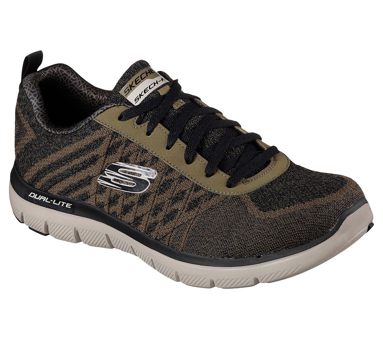 اسکچرز/مردانه/کفش اسکچرز مردانه FLEX ADVANTAGE 2.0 - GOLDEN POINT 52182