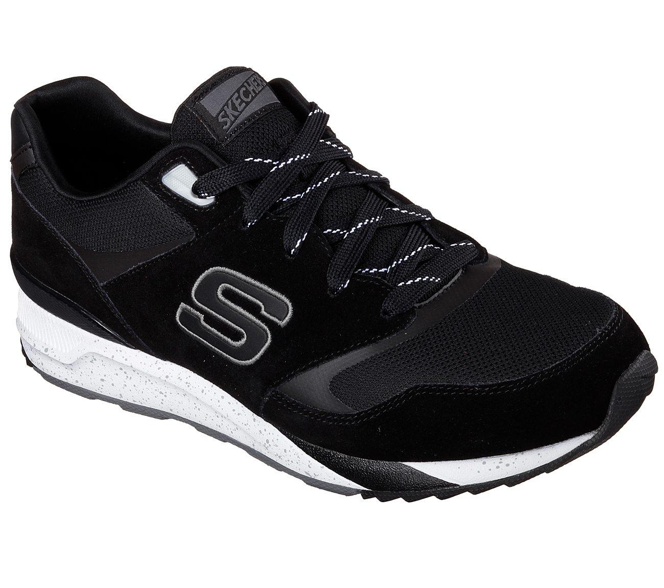 Skechers OG 90 52350 BBK, Mens, Black, sports shoes