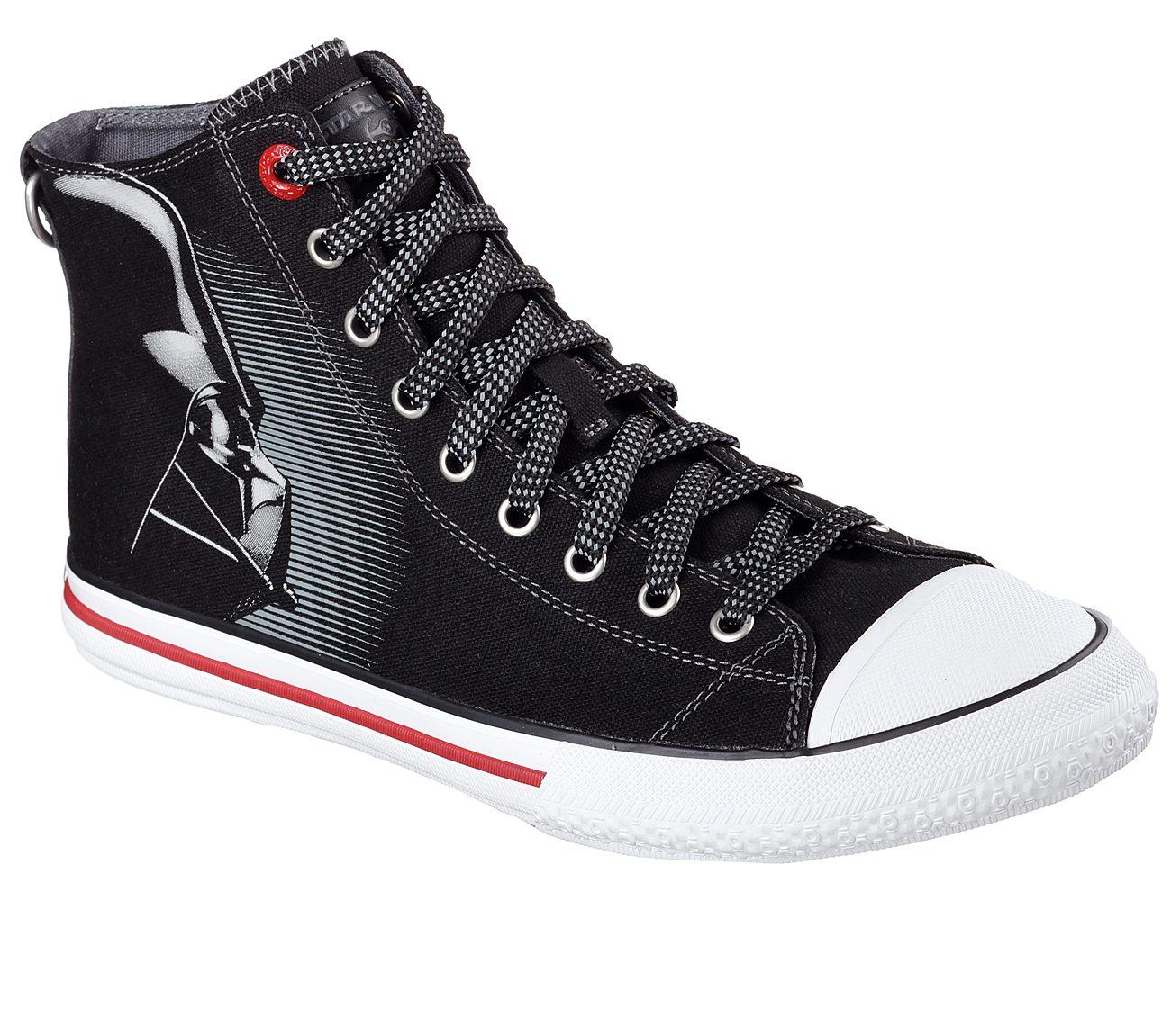 Star Wars Sneakers >> Buy Skechers Star Wars Legacy Vulc Vader Reflective High Top