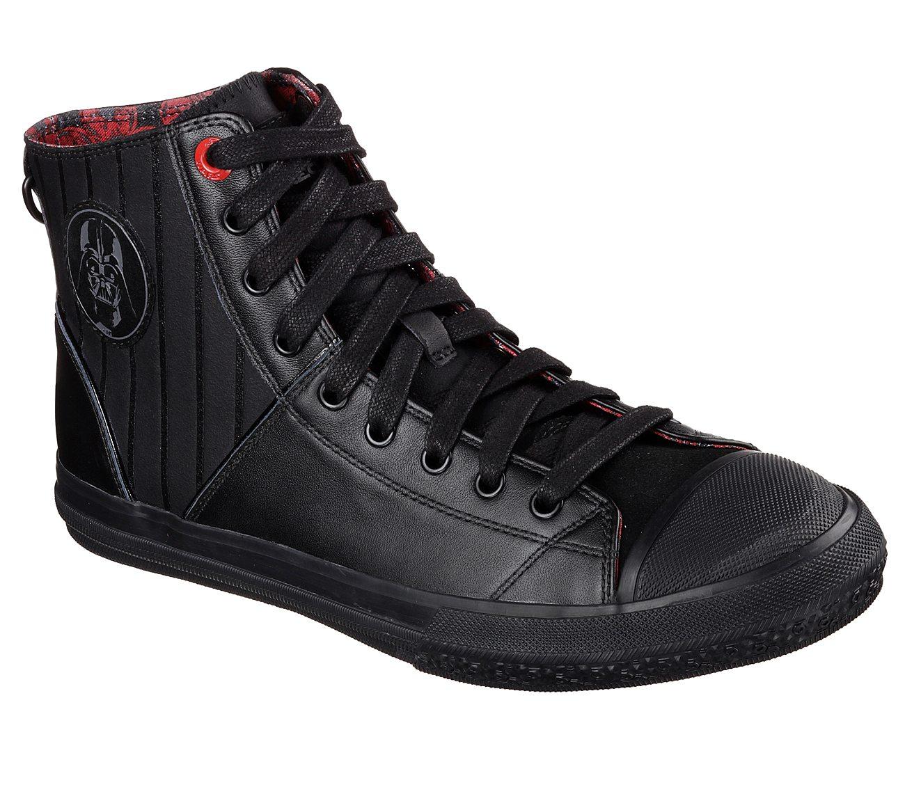 Star Wars Sneakers >> Buy Skechers Star Wars Legacy Vulc Vader Lux High Top Sneakers
