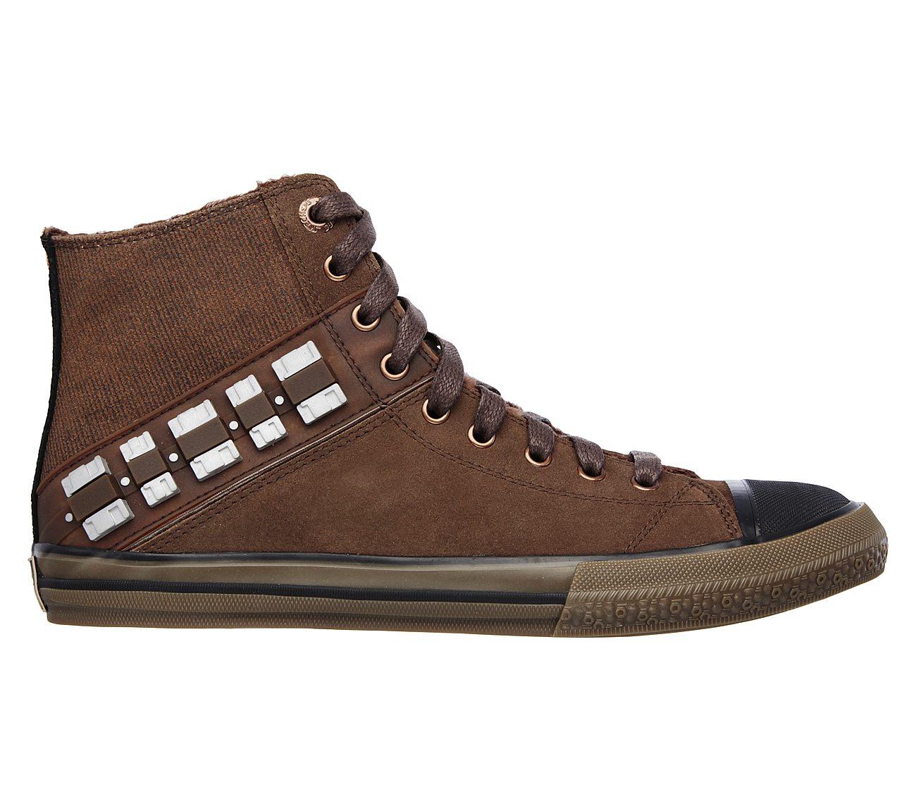 1dec5a42 Buy SKECHERS Star Wars: Legacy Vulc - Chewie Athletic Sneakers Shoes ...
