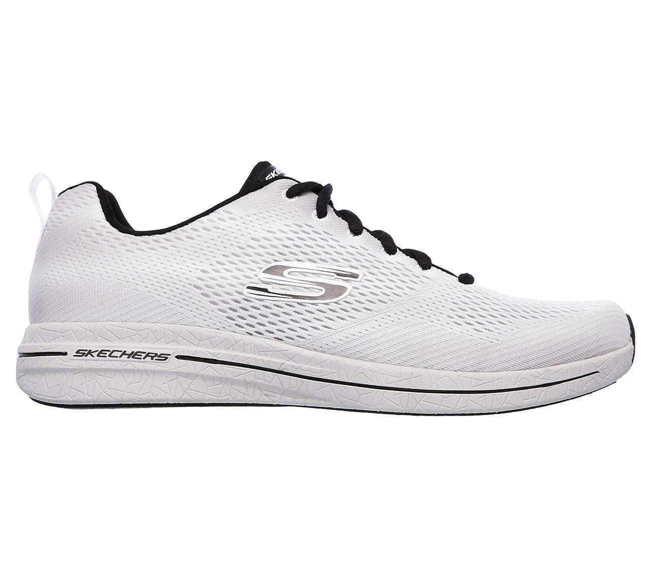 skechers mens shoes white