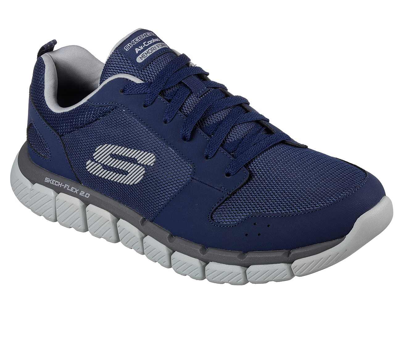 skechers relaxed fit skech flex men's memory foam shoes