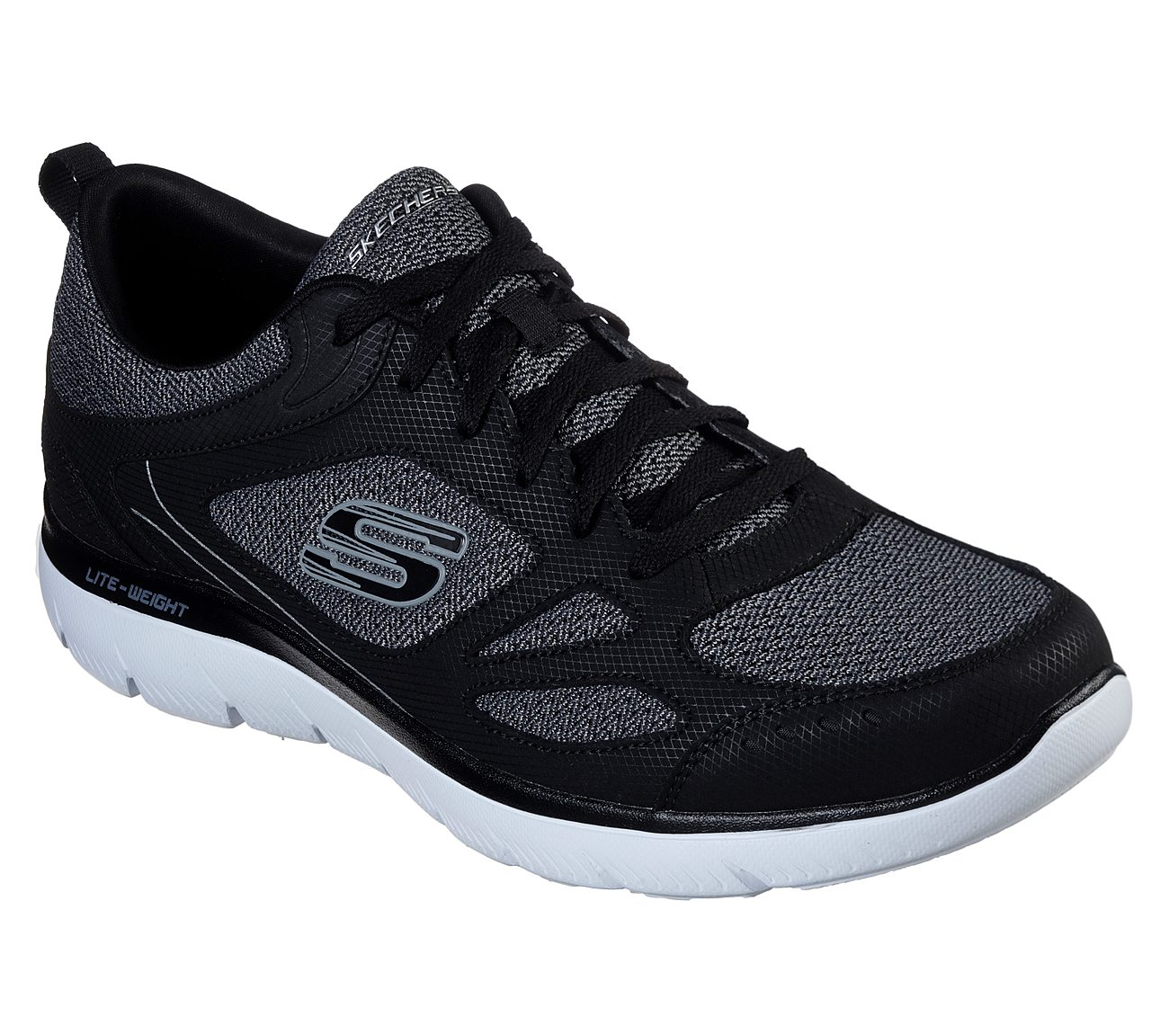 Skechers Sport SUMMITS SOUTH RIM - Trainers - black aEVCrgPqf