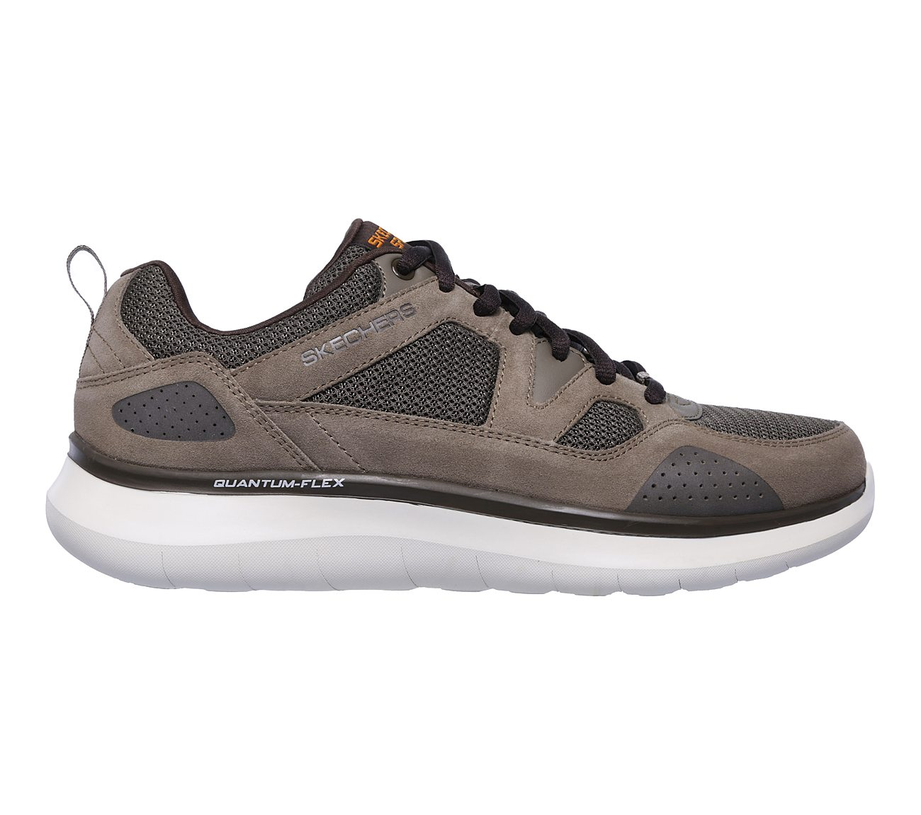 QUANTUM FLEX COUNTRY WALKER Mens Relaxed Fit Trainers Brown