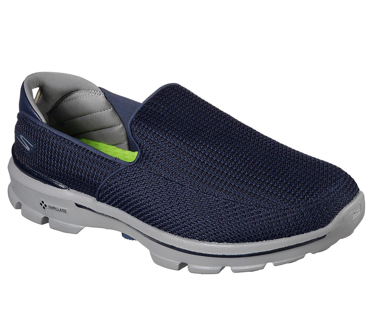 Skechers Gowalk 3 Navy Gray 9793
