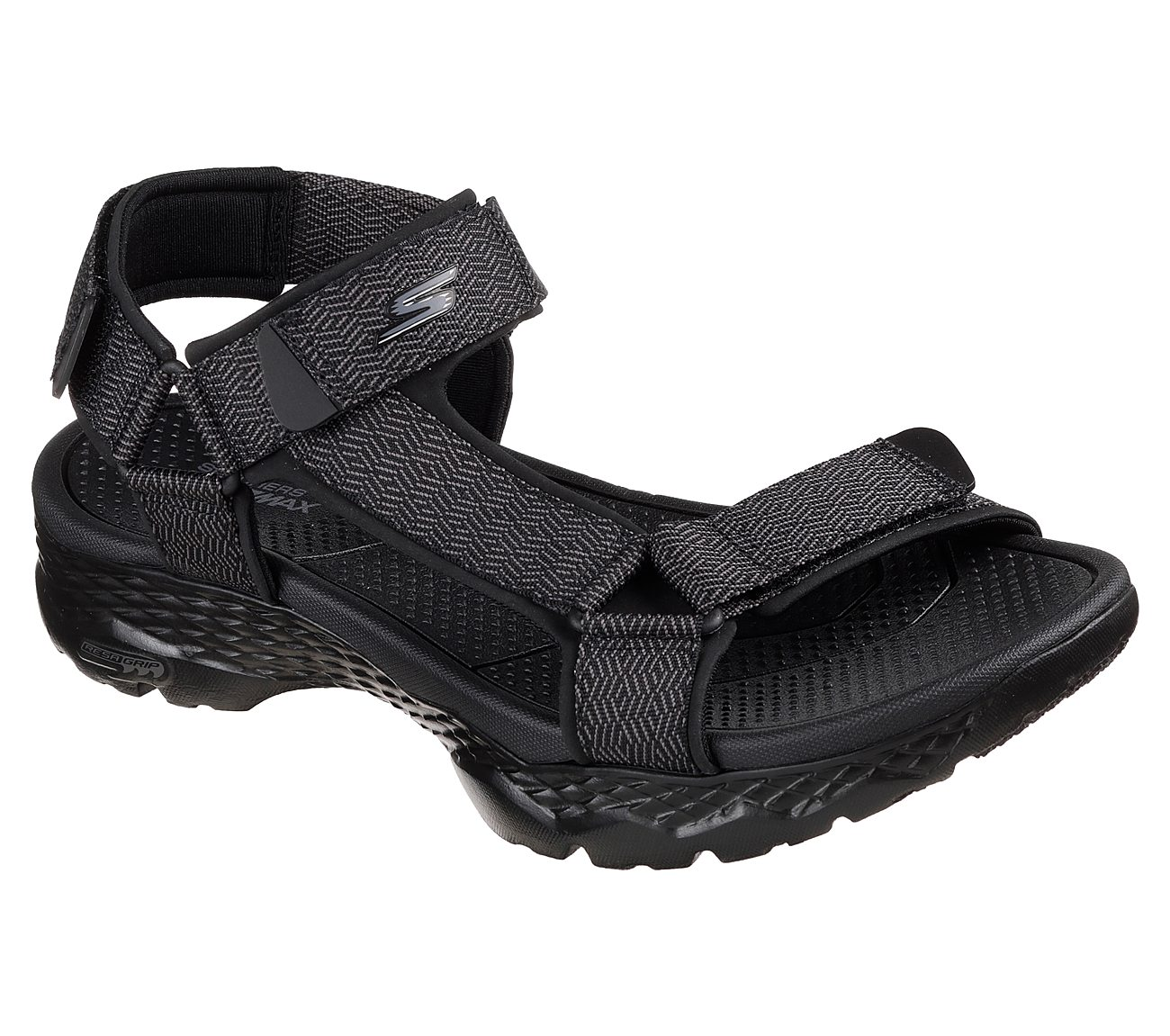 Skechers GOwalk Outdoors - Nature. $55.00. Hover to zoom. Black/Gray