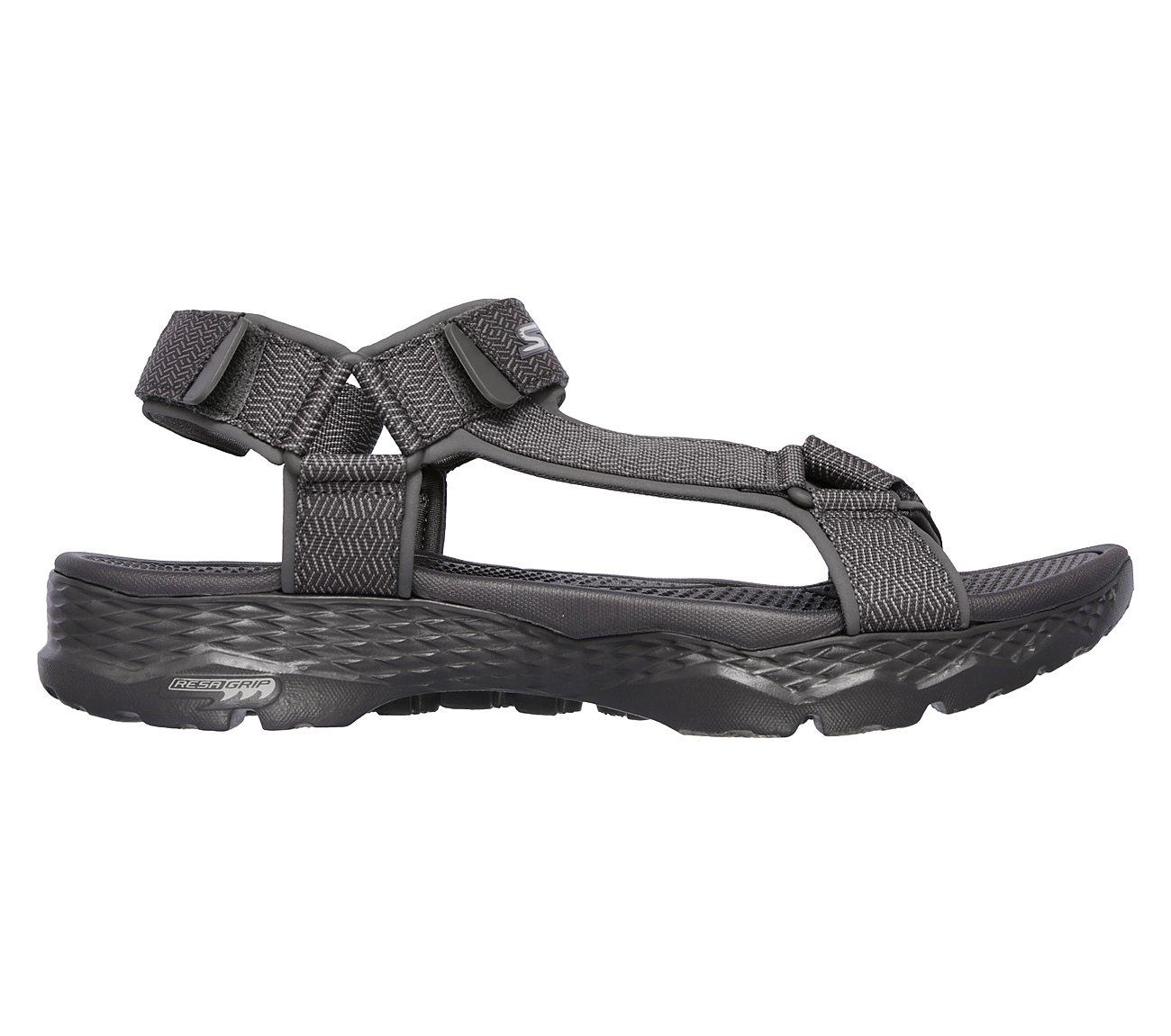 Skechers Men's, Go Walk Outdoors Nature Sandals Charcoal 7 M