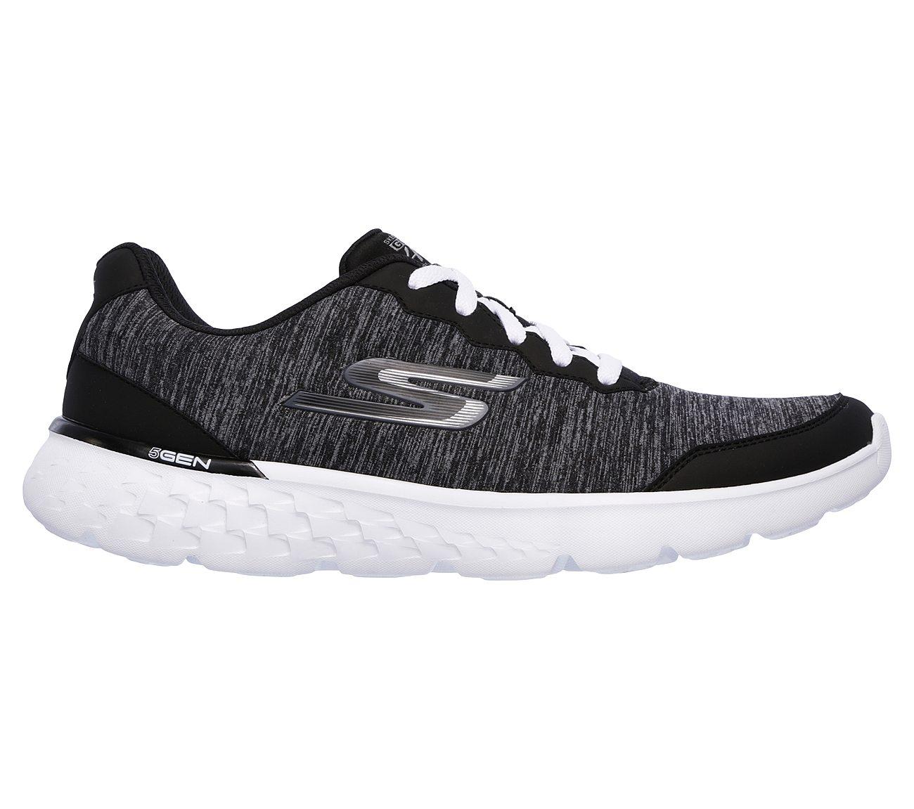 Skechers GOrun 400 BKW14354 Womens Performance Shoes Black/White