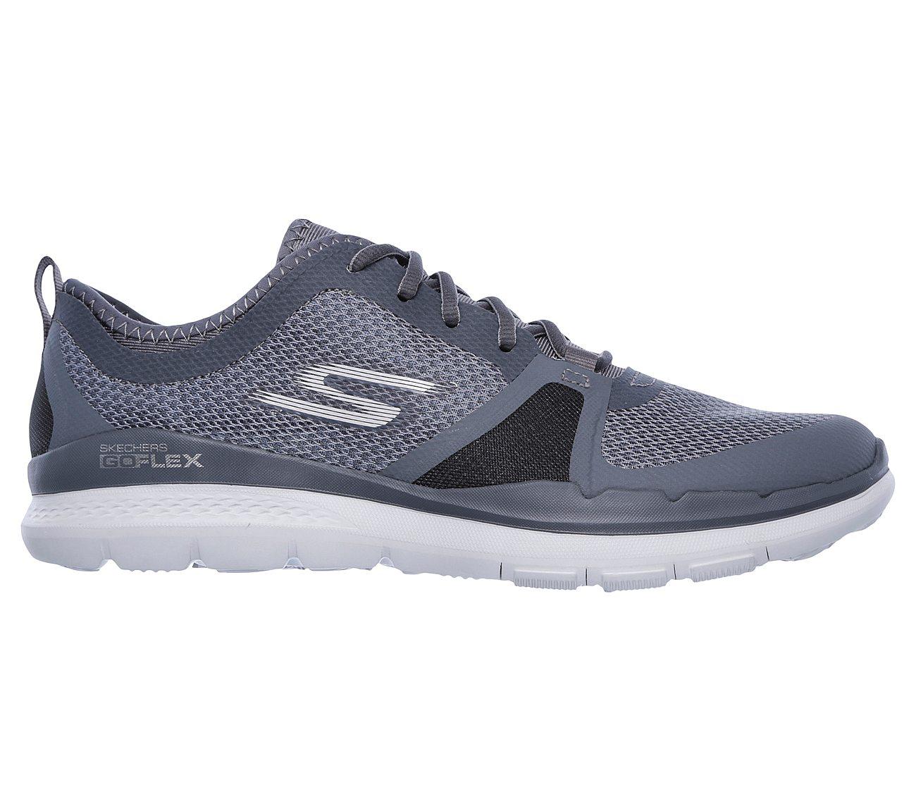 Womens Athletic Shoes skechers performance gray black go flex rx3f80h8