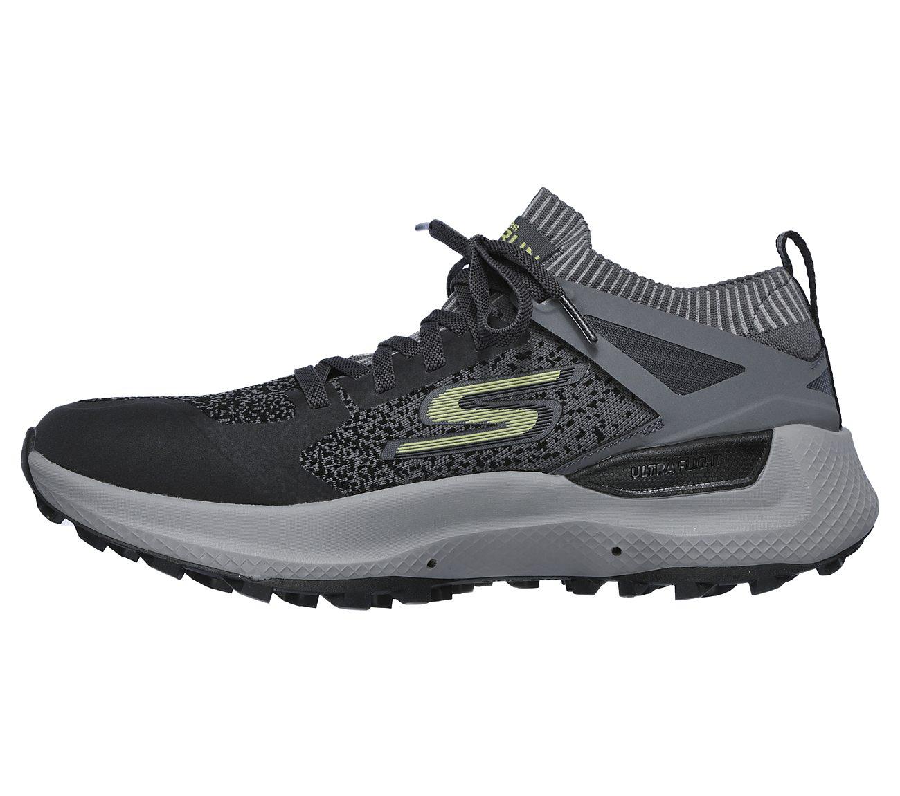 Skechers GOrun Ultra Trail Running Shoe Men's Charcoal
