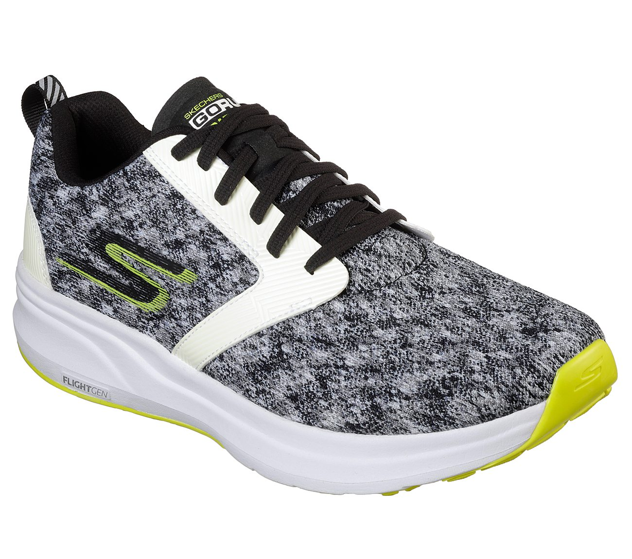 Buy SKECHERS Skechers GOrun Ride 7 - Nite Owl Skechers Performance ... 397e627ca42f