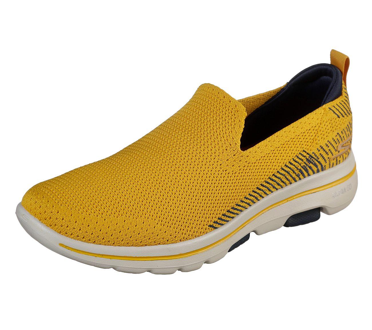 skechers go walk 4 womens yellow Sale
