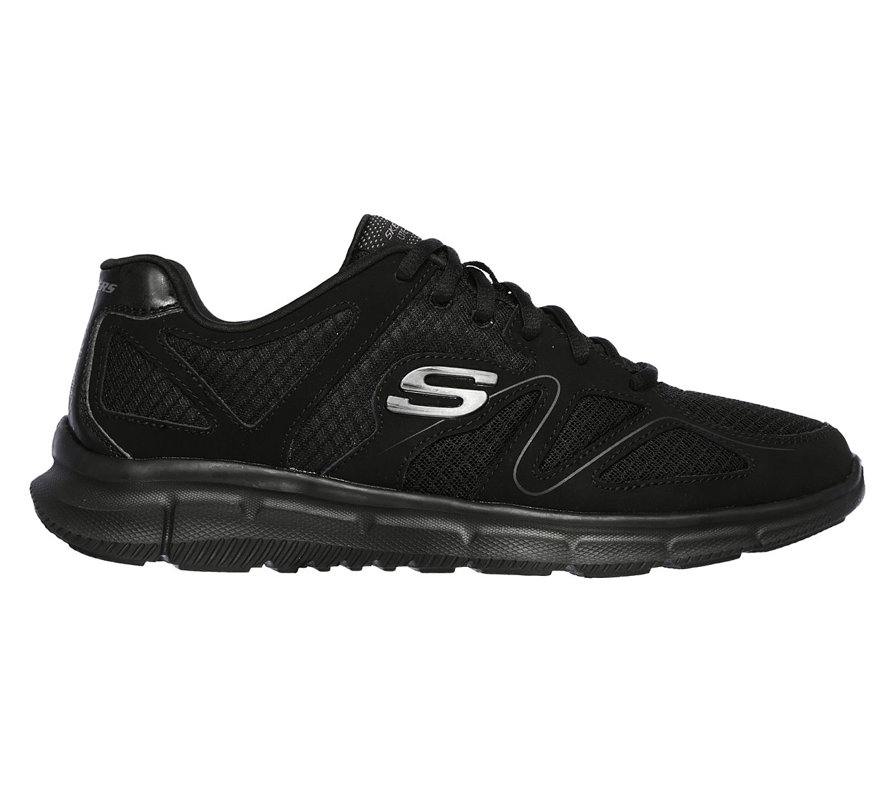 Skechers Men's Satisfaction Flash Point Trainer,Charcoal/Orange,US 7 M
