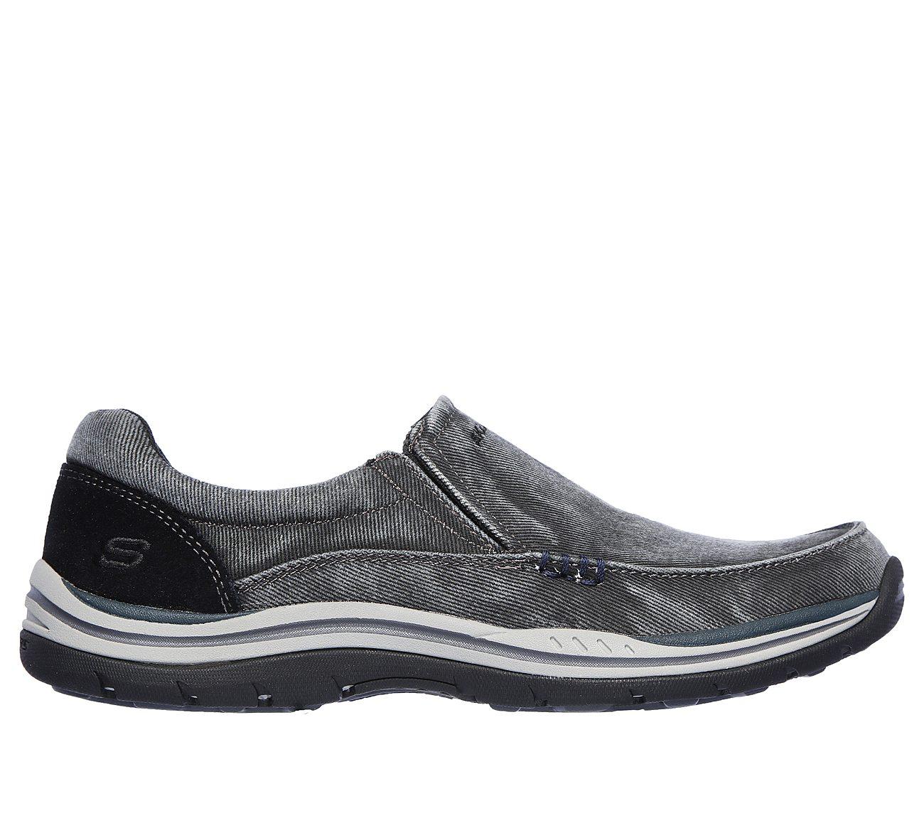 Skechers Shoes  Skechers Avillo 64109 Mens Casual Shoes Black