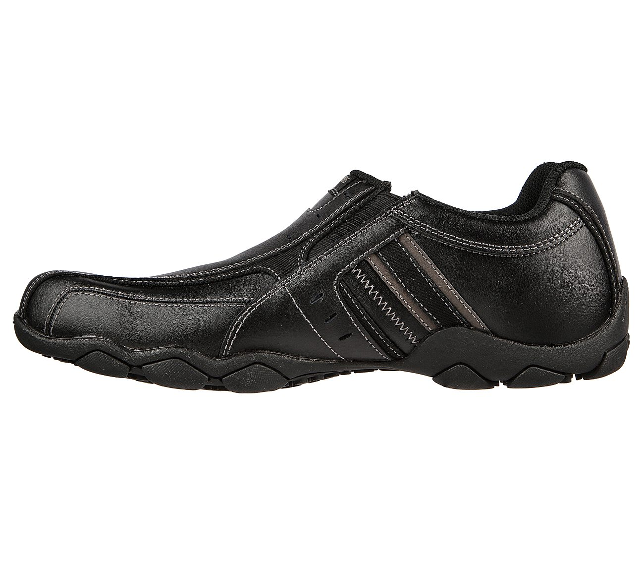 skechers men's diameter casual slip on