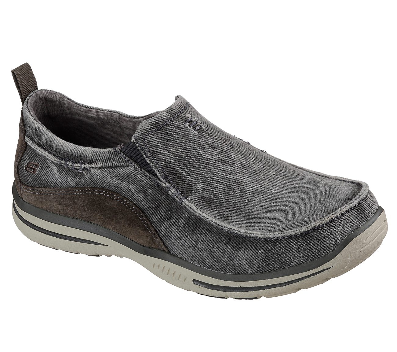 skechers relaxed fit slip on
