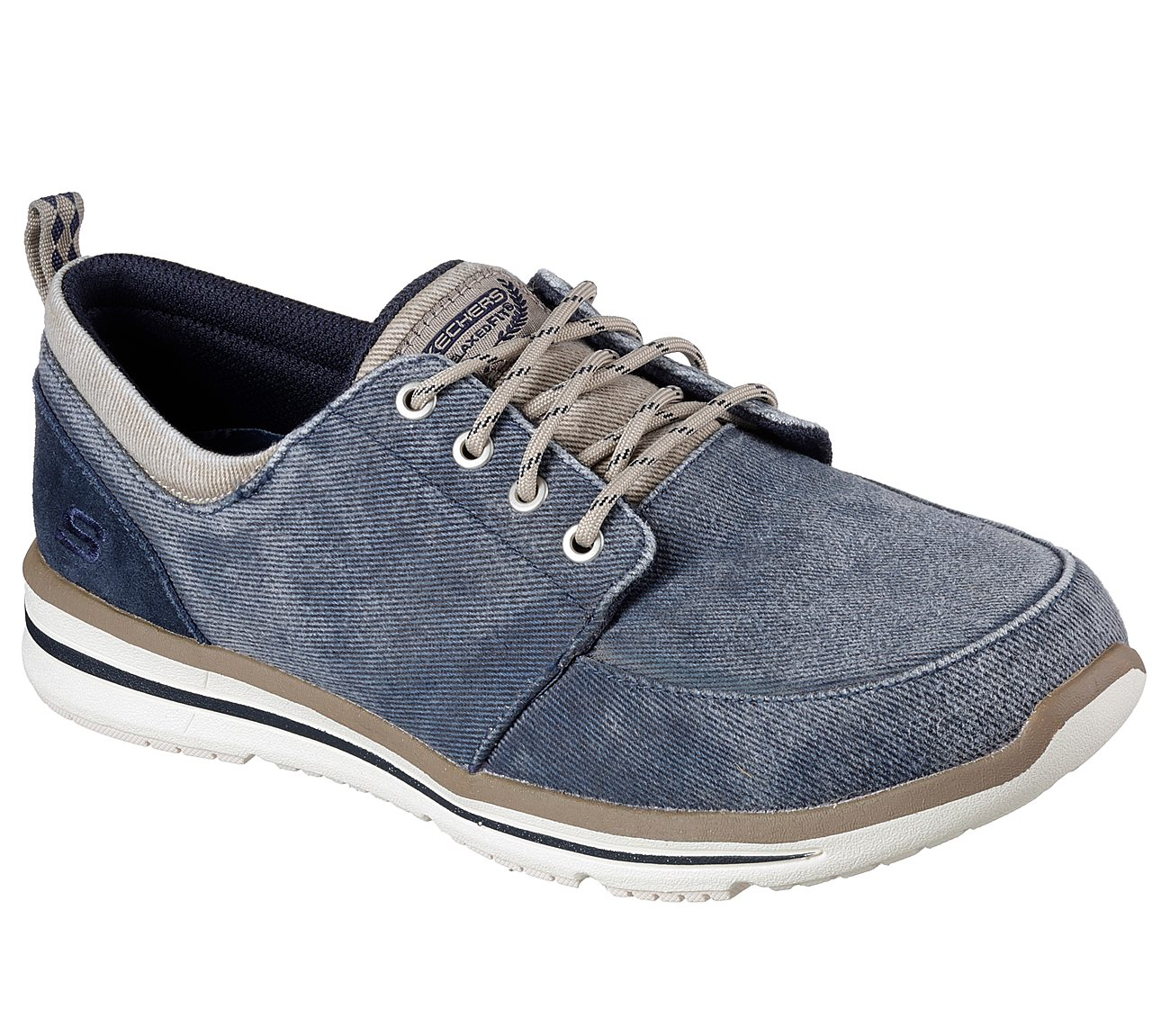 Hover to zoom. NAVY/NATURAL