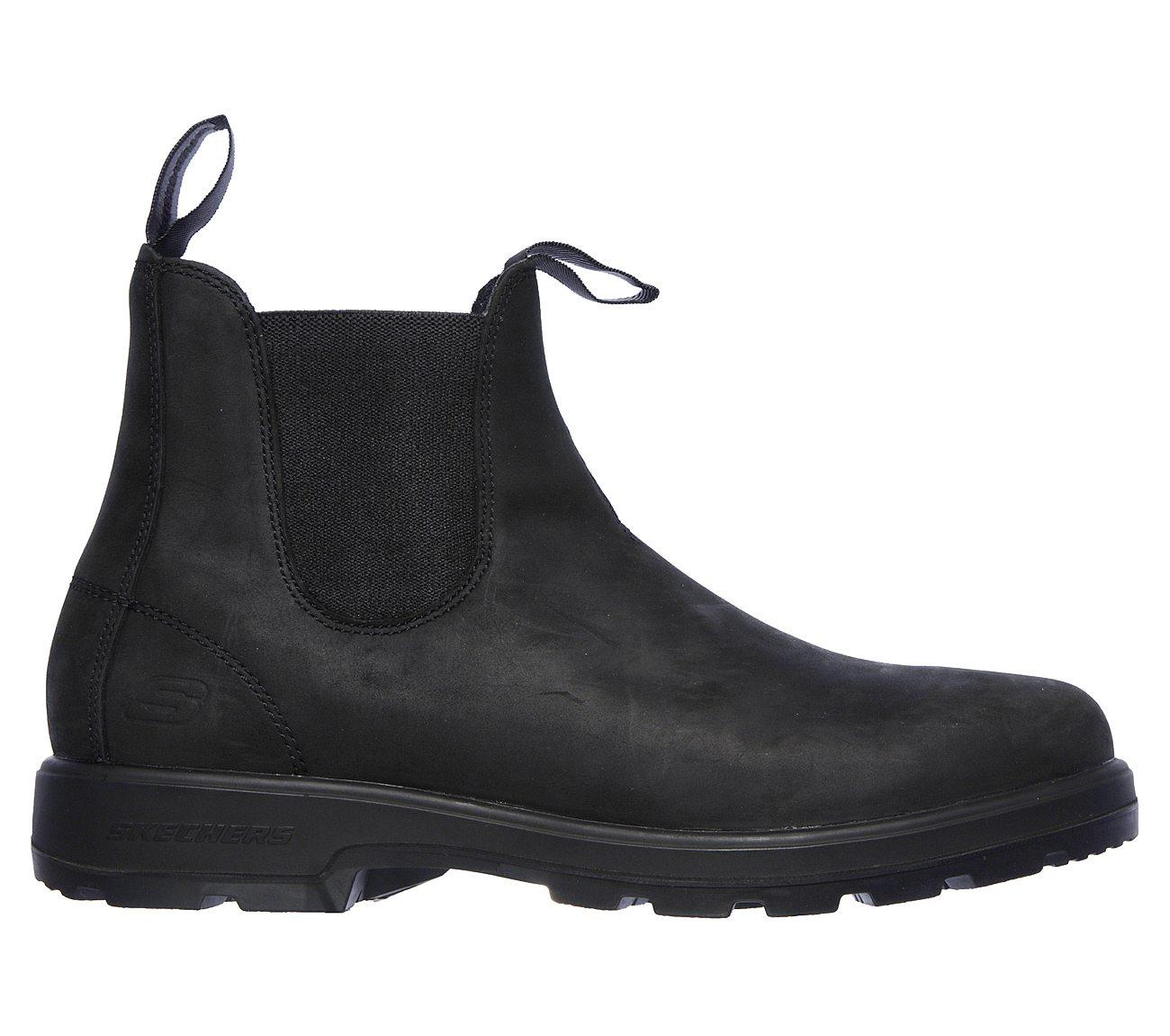 Skechers Skech Air Droven Malten Slip On Shoe Men's Size 10.5 Black | eBay