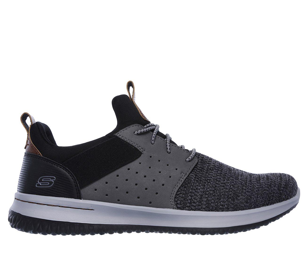 SKECHERS MEN'S Delson Camben Slip On Sneaker