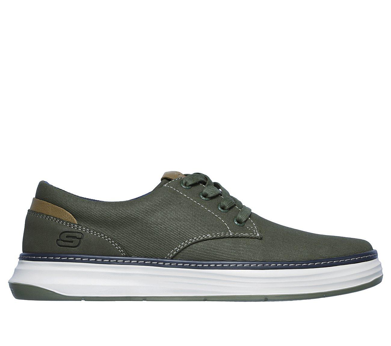 skechers slip on canvas shoes