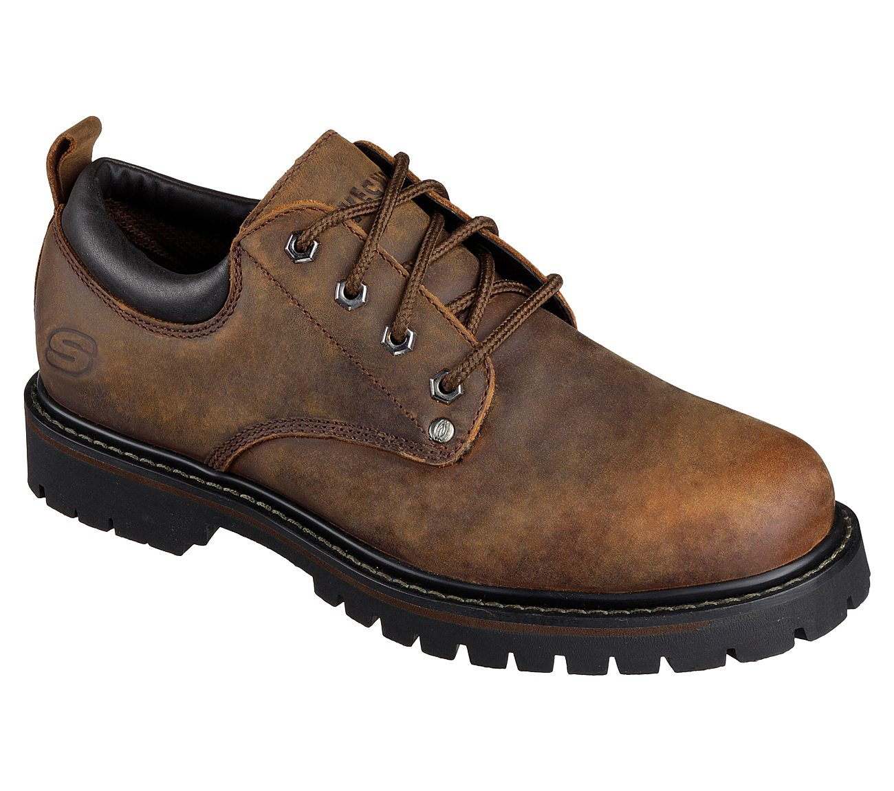 SKECHERS TOM CATS MENS SHOES 6618 CDB OXFORD STYLE SIZE 14