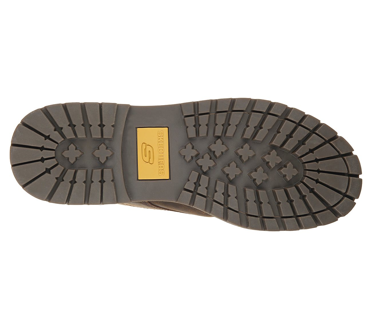 Mens Skechers Bruiser Brown Leather Boots CDB 6643