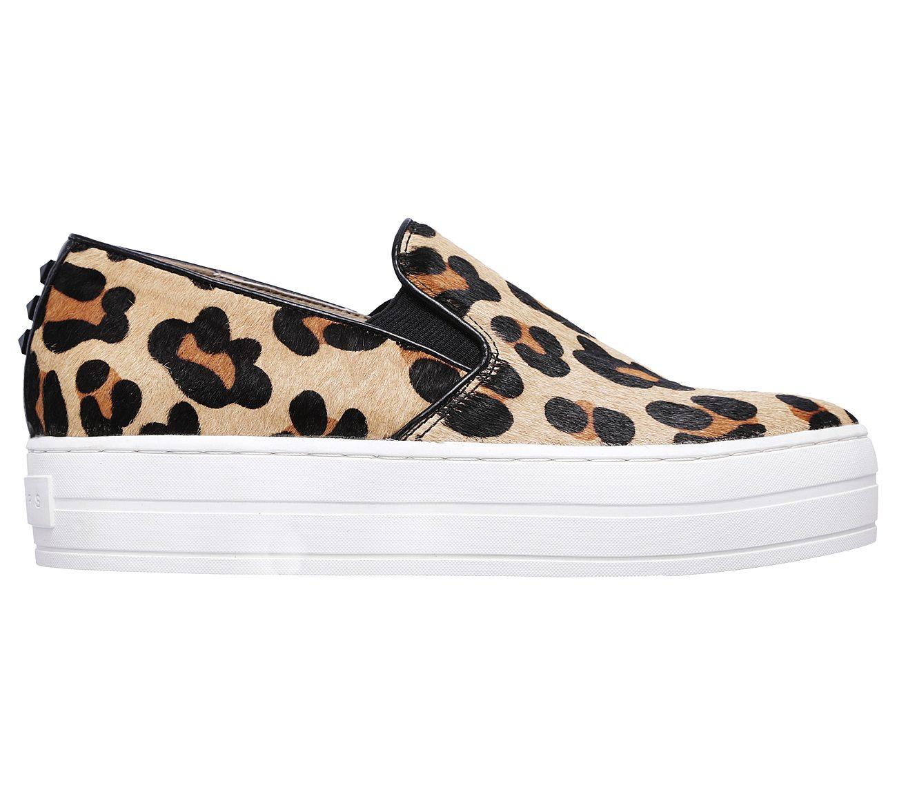 Men S Platform Shoes Leopard Fur