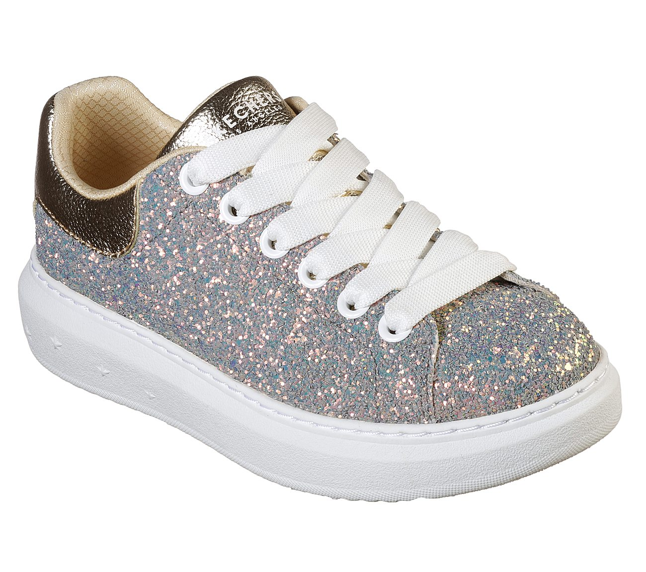 Glitter Rockers Lace-Up Sneakers Shoes