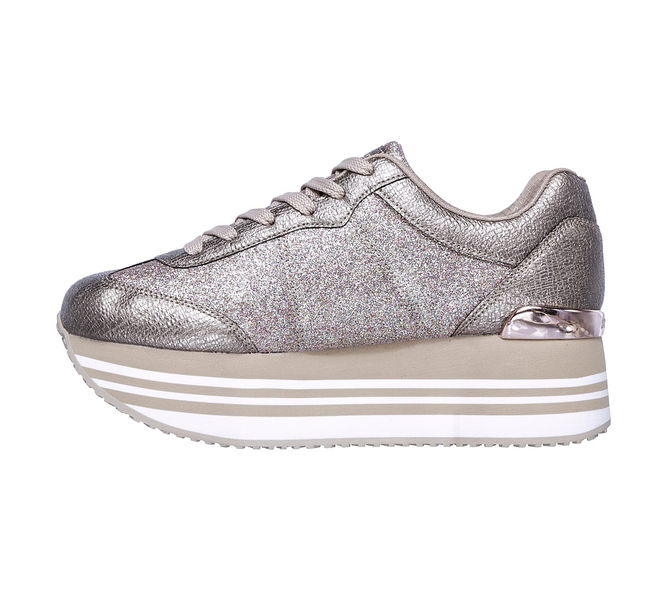 skechers highrise trainers