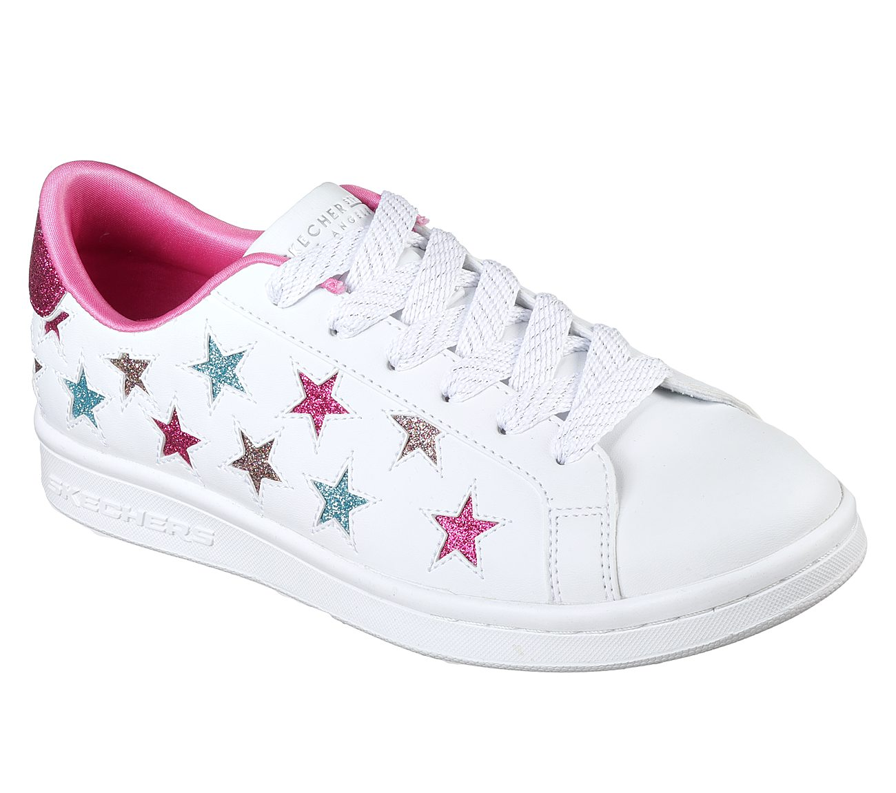 NEW SKECHERS WOMENS OMNE LITTLE STAR SNEAKER