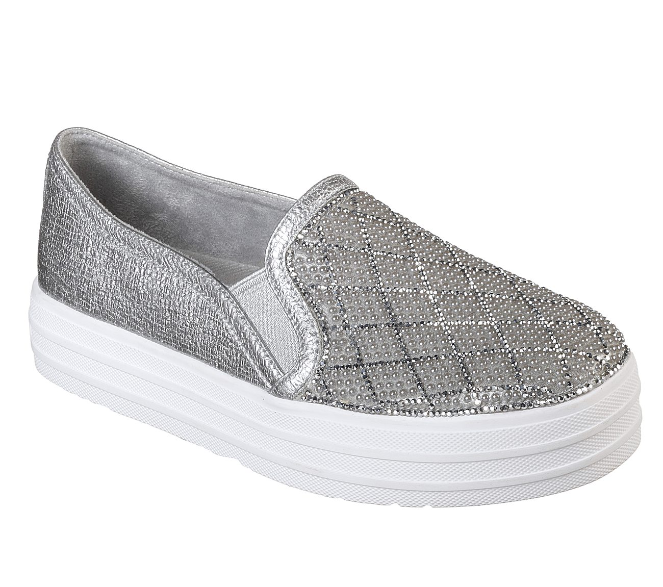 686823baf3ab Buy SKECHERS Double Up - Diamond Dancer Slip-On Sneakers Shoes only ...