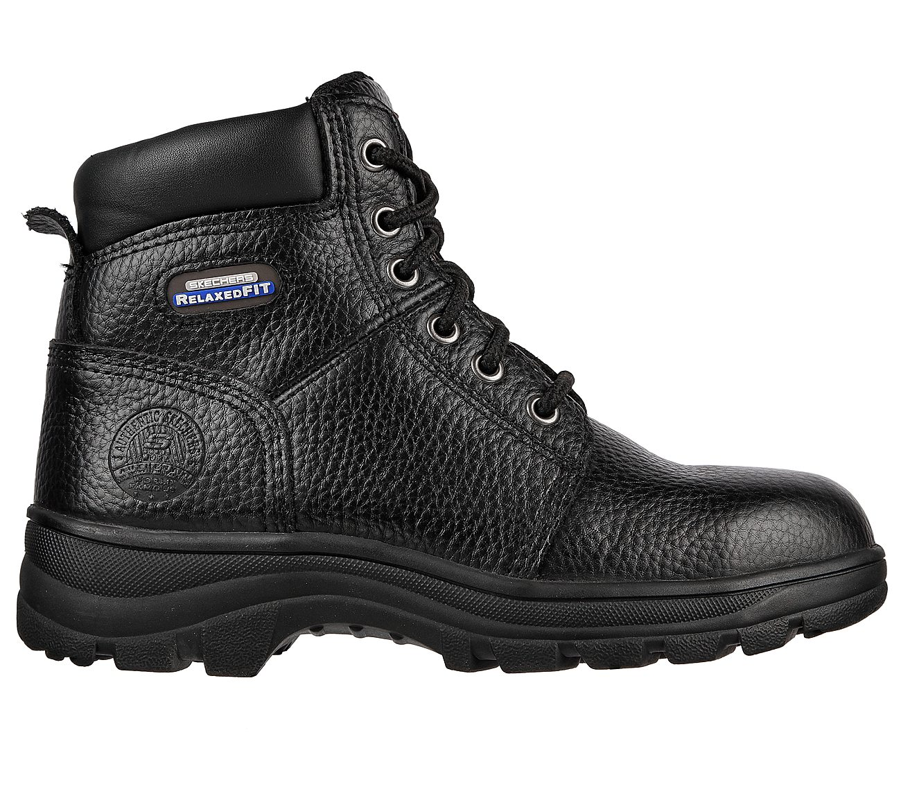 1f5a1e54a6ed Buy SKECHERS Work Relaxed Fit  Workshire - Peril ST Work Shoes only ...