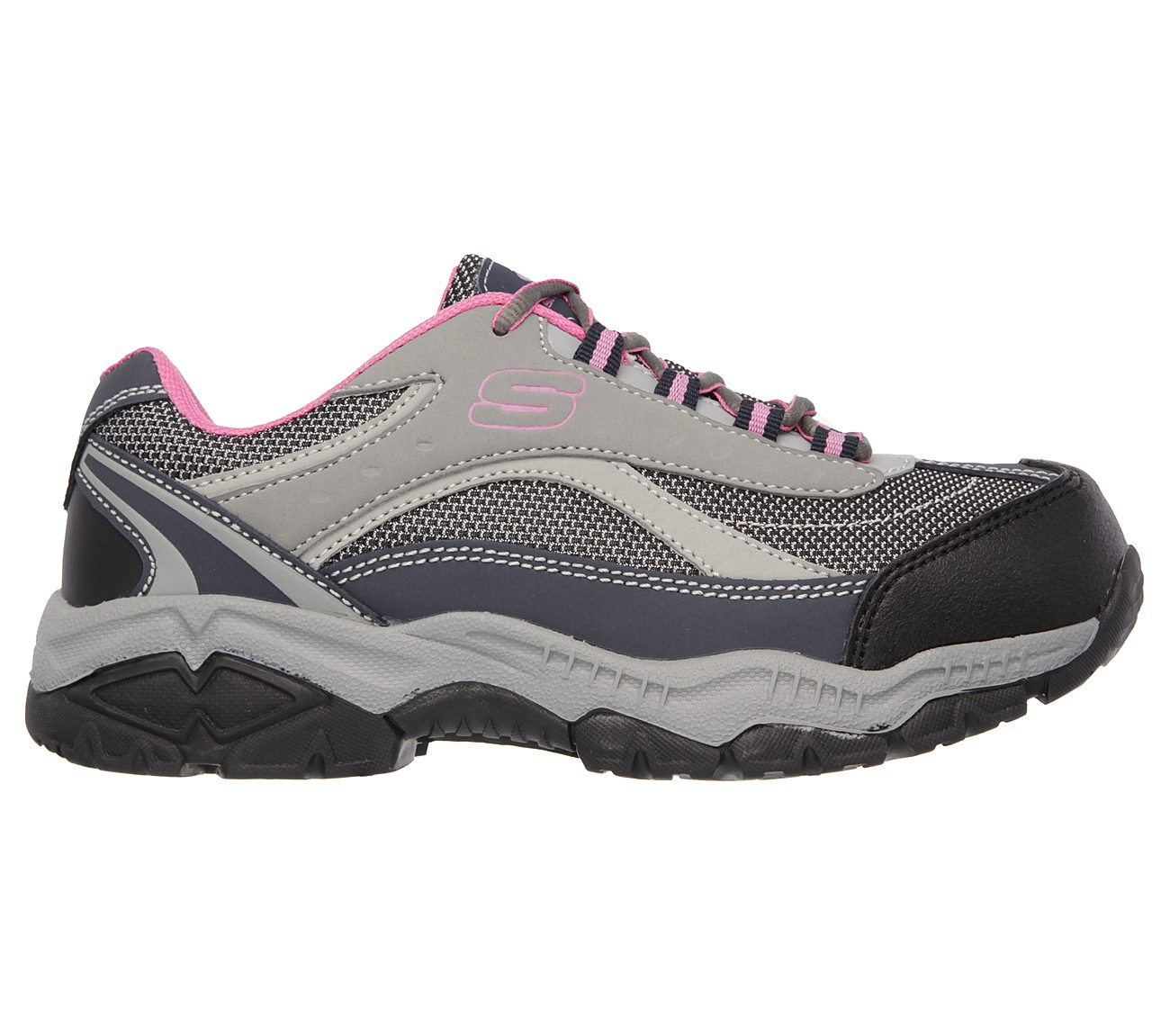 Skechers Work Relaxed Fit Doyline Steel Toe Sneaker (Women's) KVzfGiSLi
