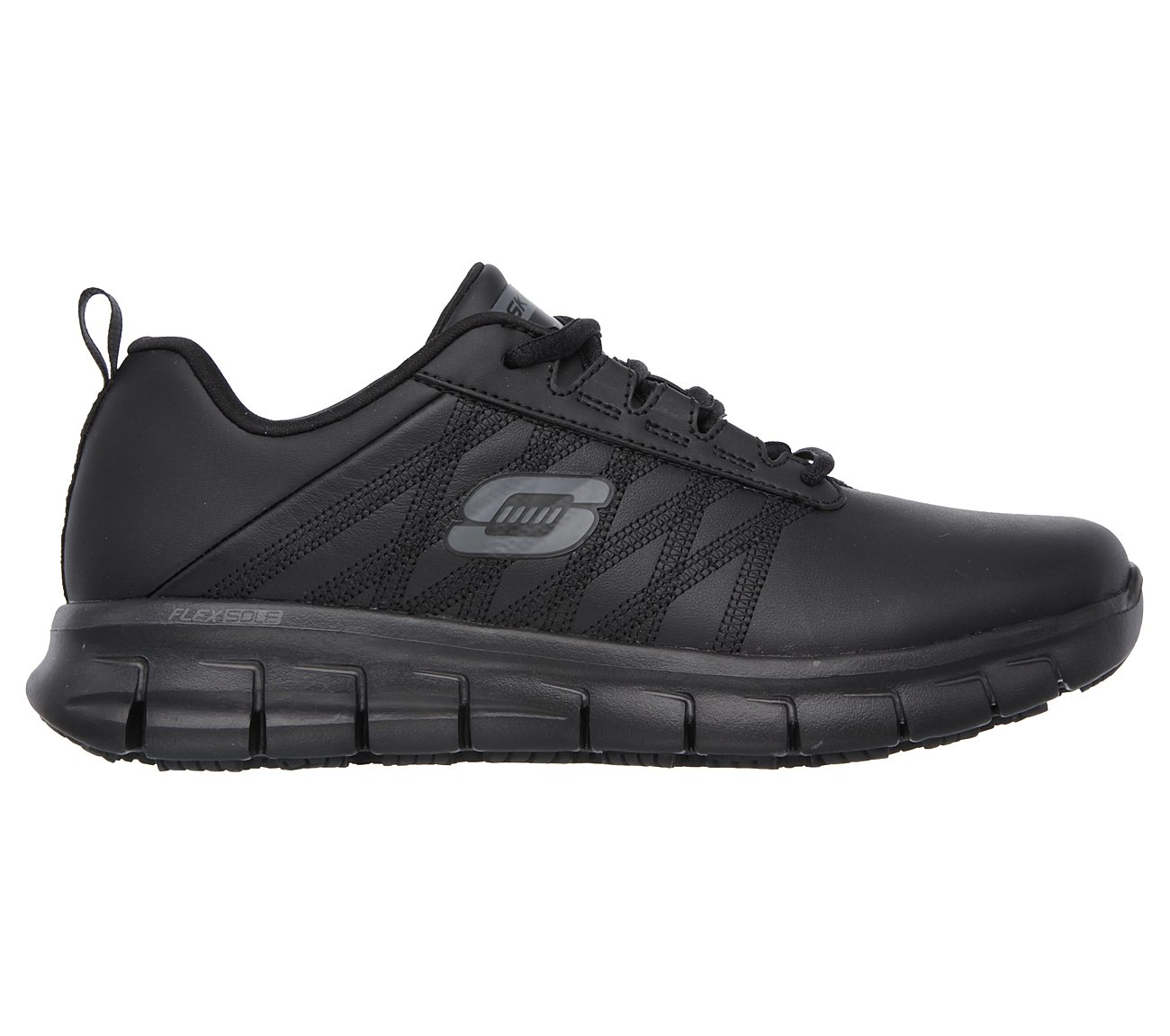 skechers work relaxed fit sure track erath slip resistant