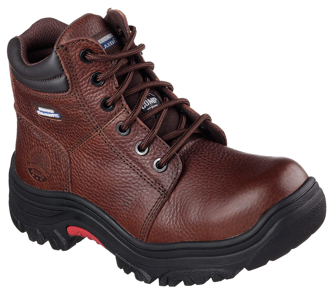 Work Relaxed Fit: Burgin - Taney Comp Toe. $99.00. Hover to zoom. Dark Brown