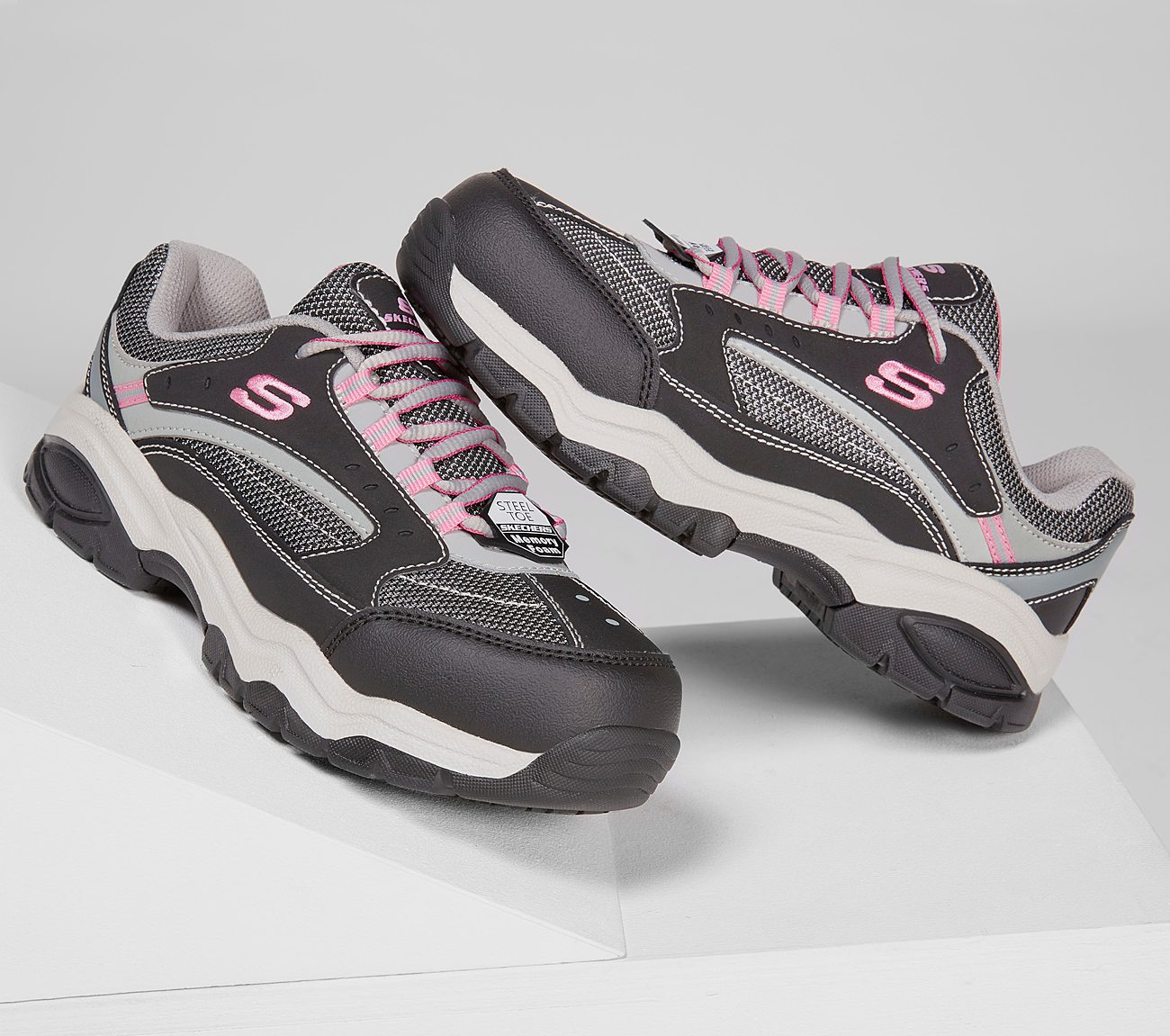 10b9dae2b9a0 Buy SKECHERS Work  Biscoe ST Work Shoes only  70.00