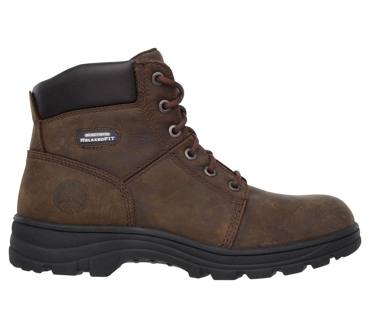 اسکچرز/مردانه/کفش کار اسکچرز مردانه WORK: RELAXED FIT - WORKSHIRE ST 77009