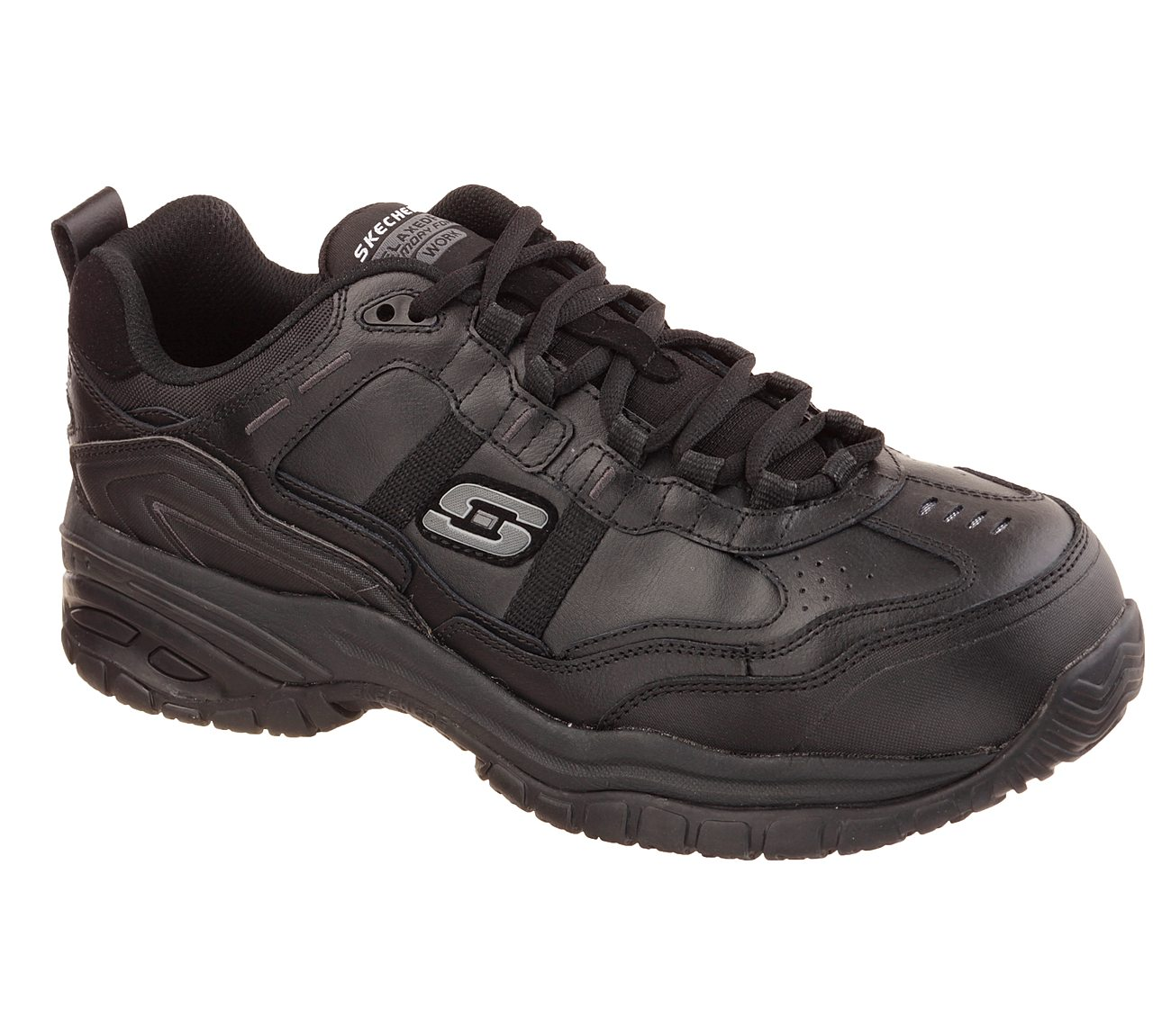 Skechers Men/'s   Work Relaxed Fit Soft Stride Grinnell CT Boot