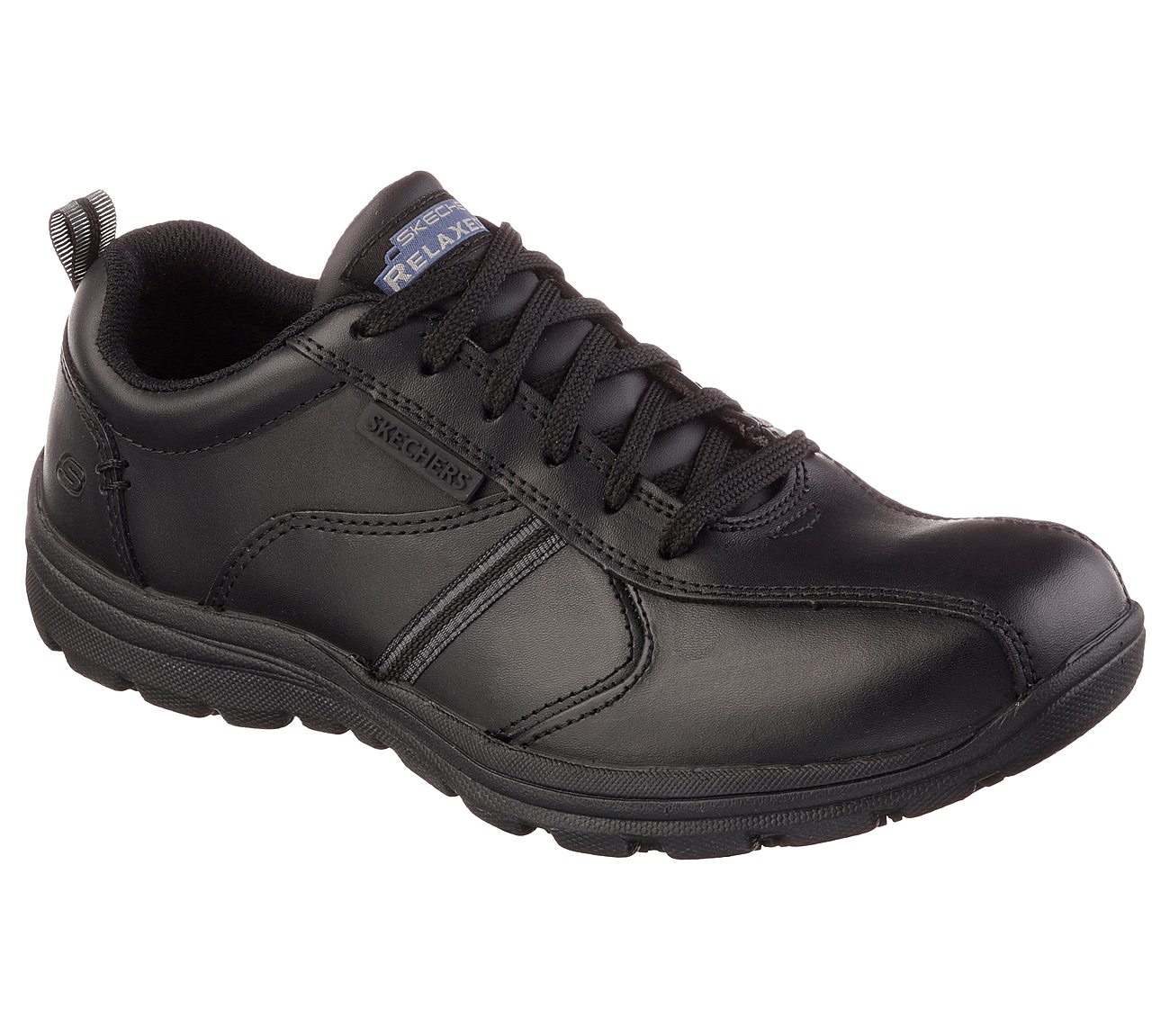 A bordo Sinis estimular  Buy SKECHERS Work Relaxed Fit: Hobbes - Frat SR Work Shoes