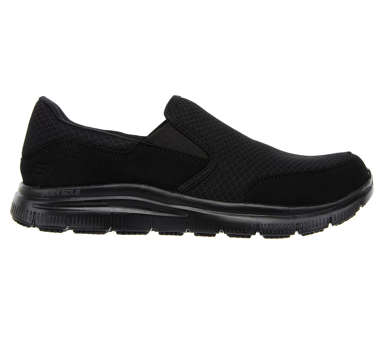 Skechers Relaxed Fit Flex ... Advantage Men's Slip-Resistant Work Shoes MSuGb2q8S4
