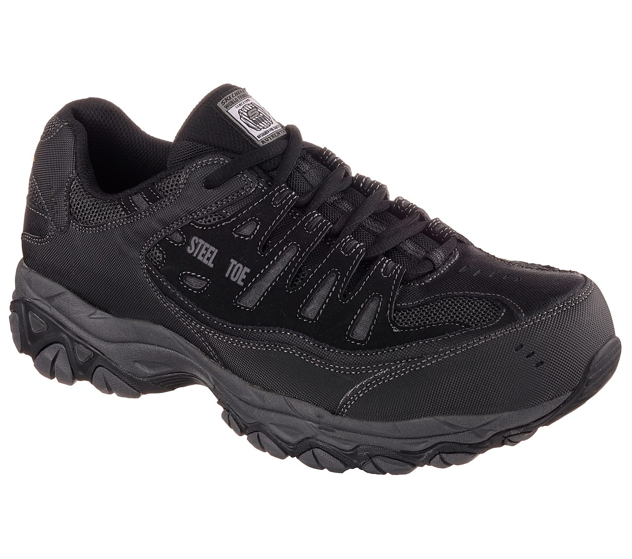 fbaf3840d0c548 Buy SKECHERS Work Relaxed Fit: Crankton ST Safety Toe Shoes only $65.00