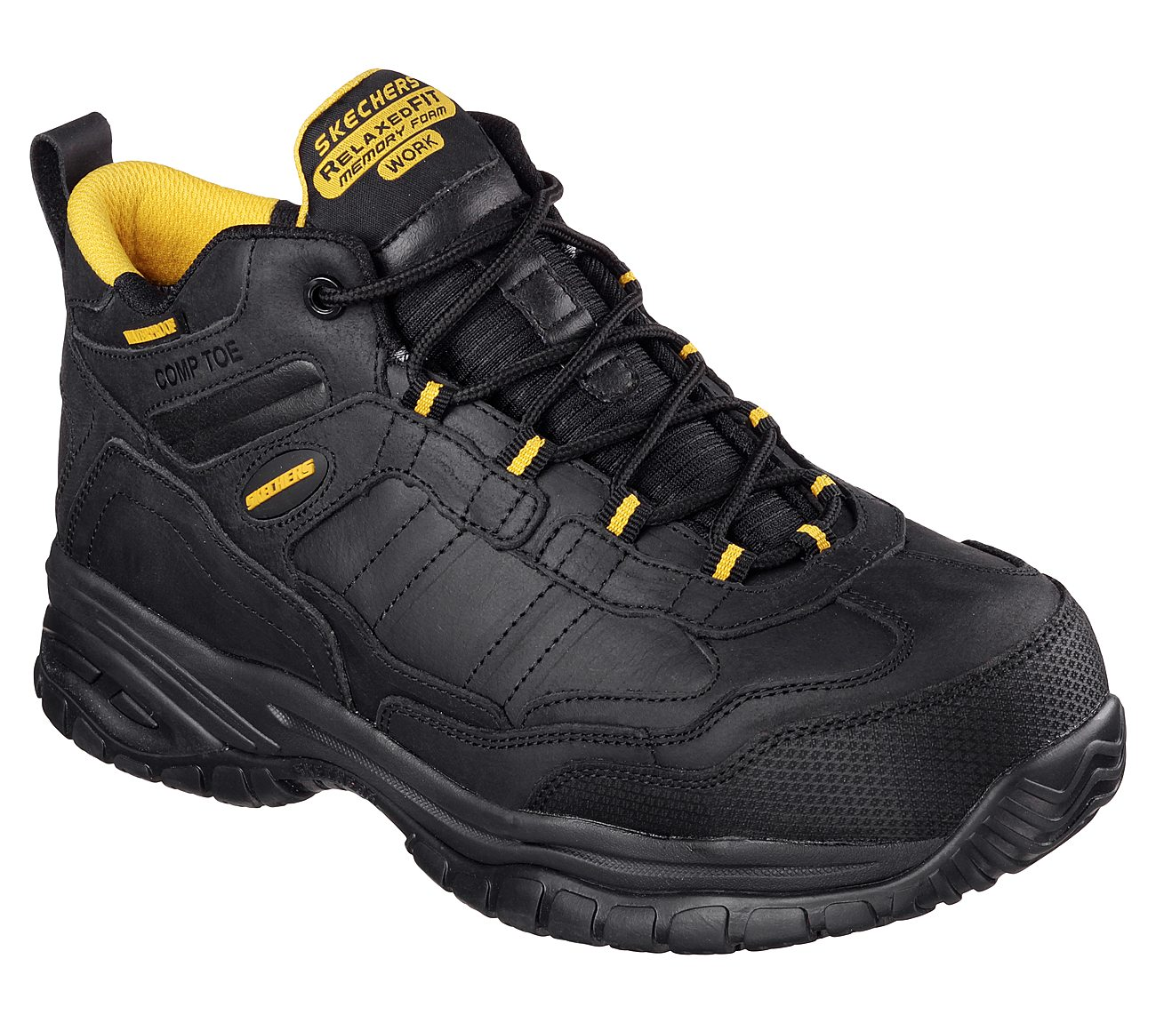 Soft Stride - Gilbe Comp Toe Work Shoes