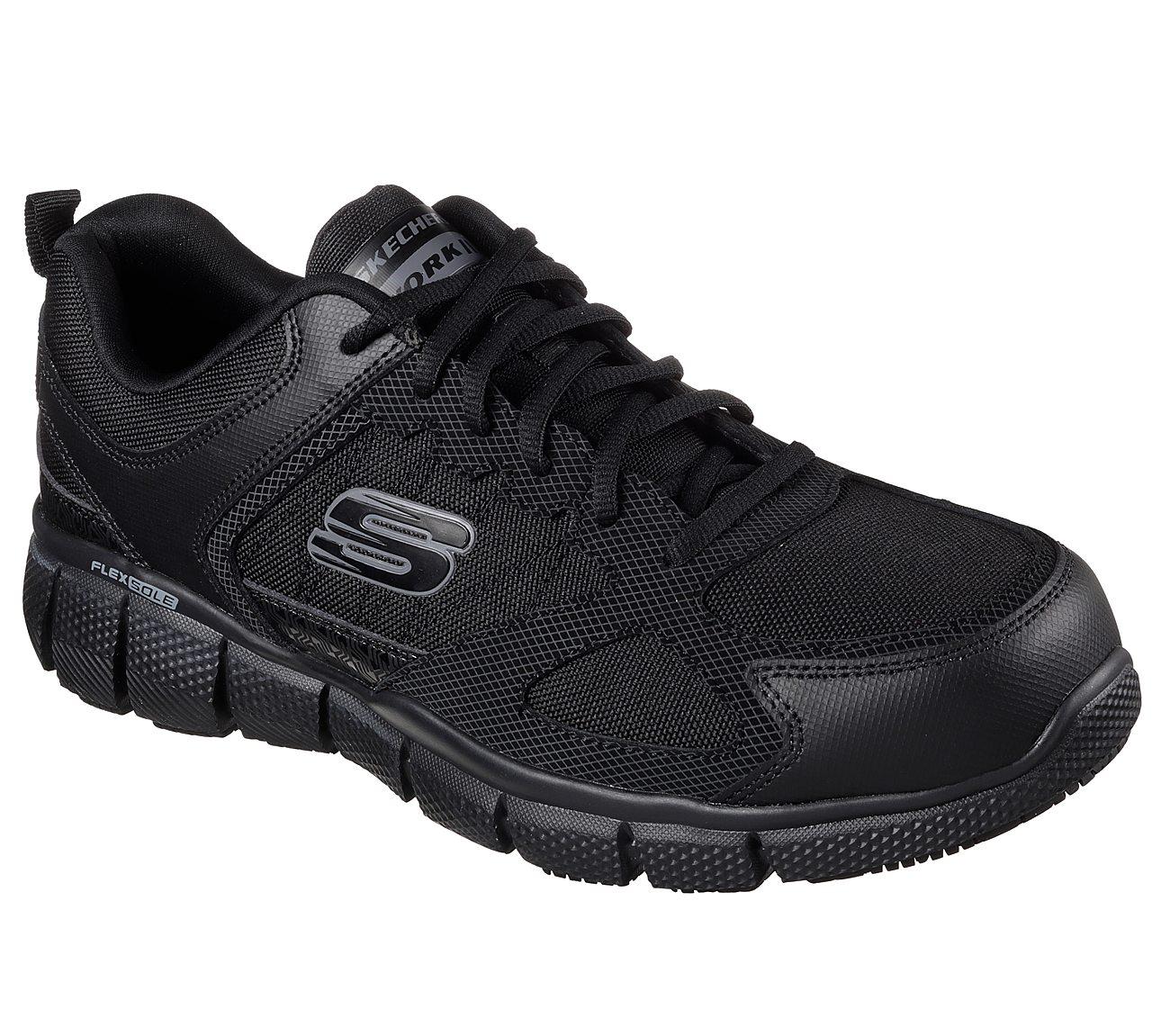 Men's Skechers Relaxed Fit Cessnock Slip Resistant Work Shoes