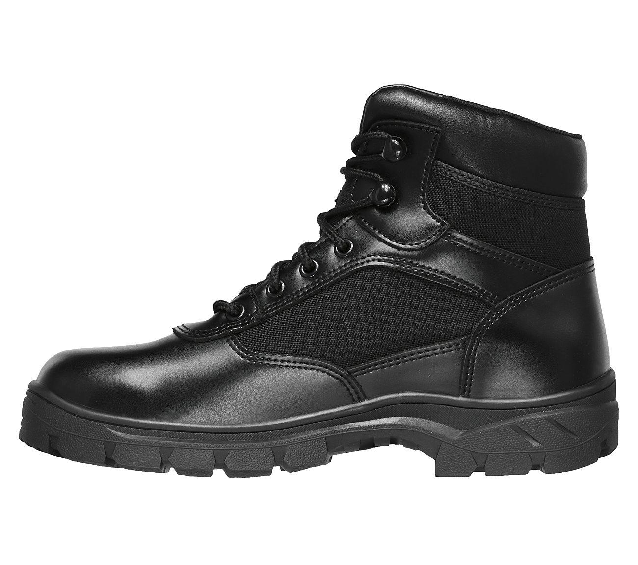 Benen Wp Tactical Black Blk Mens Tactical Boots Size 13W Skechers Wascana