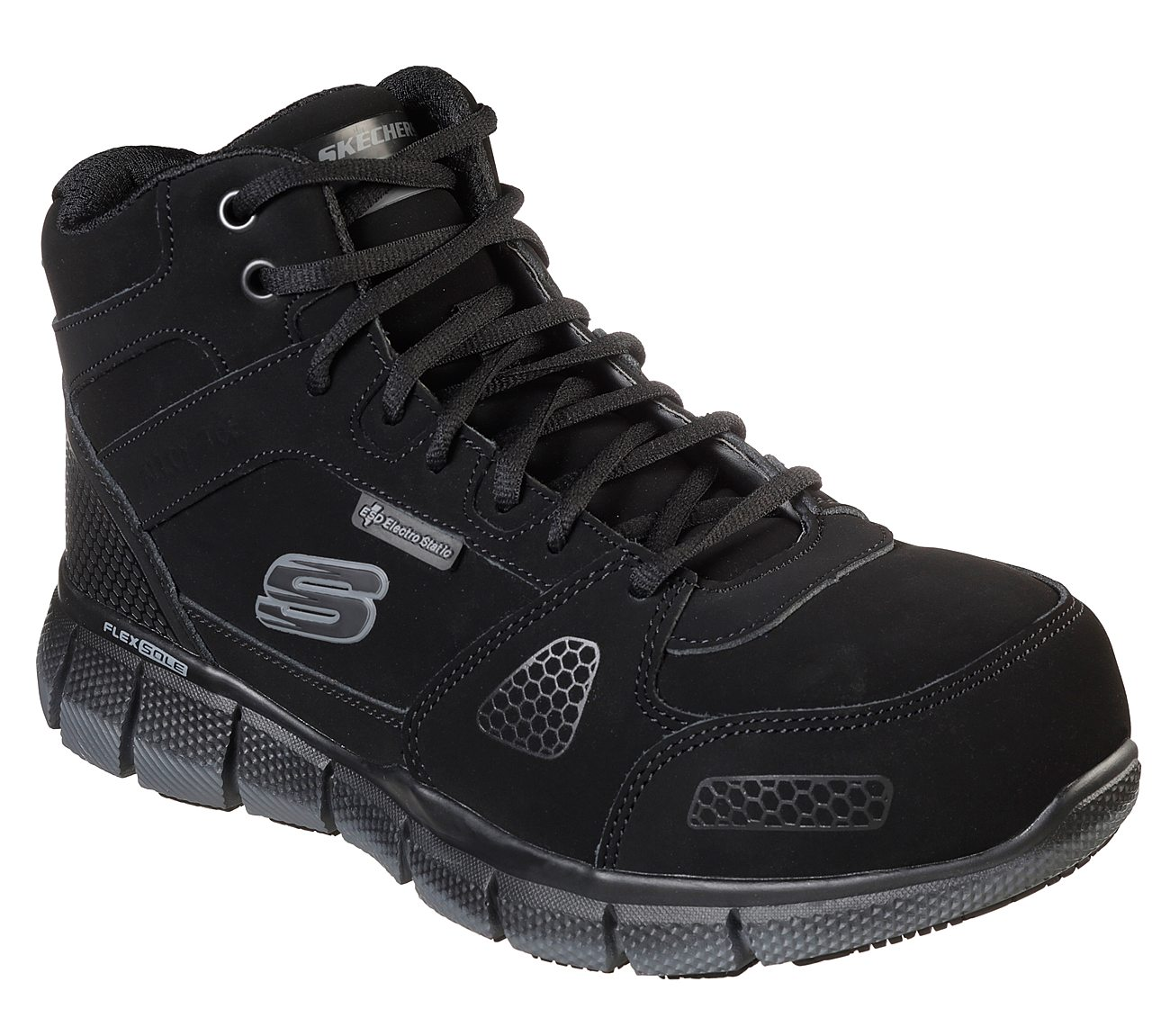 Skechers Work Telfin Steel Toe Work Shoes Mens