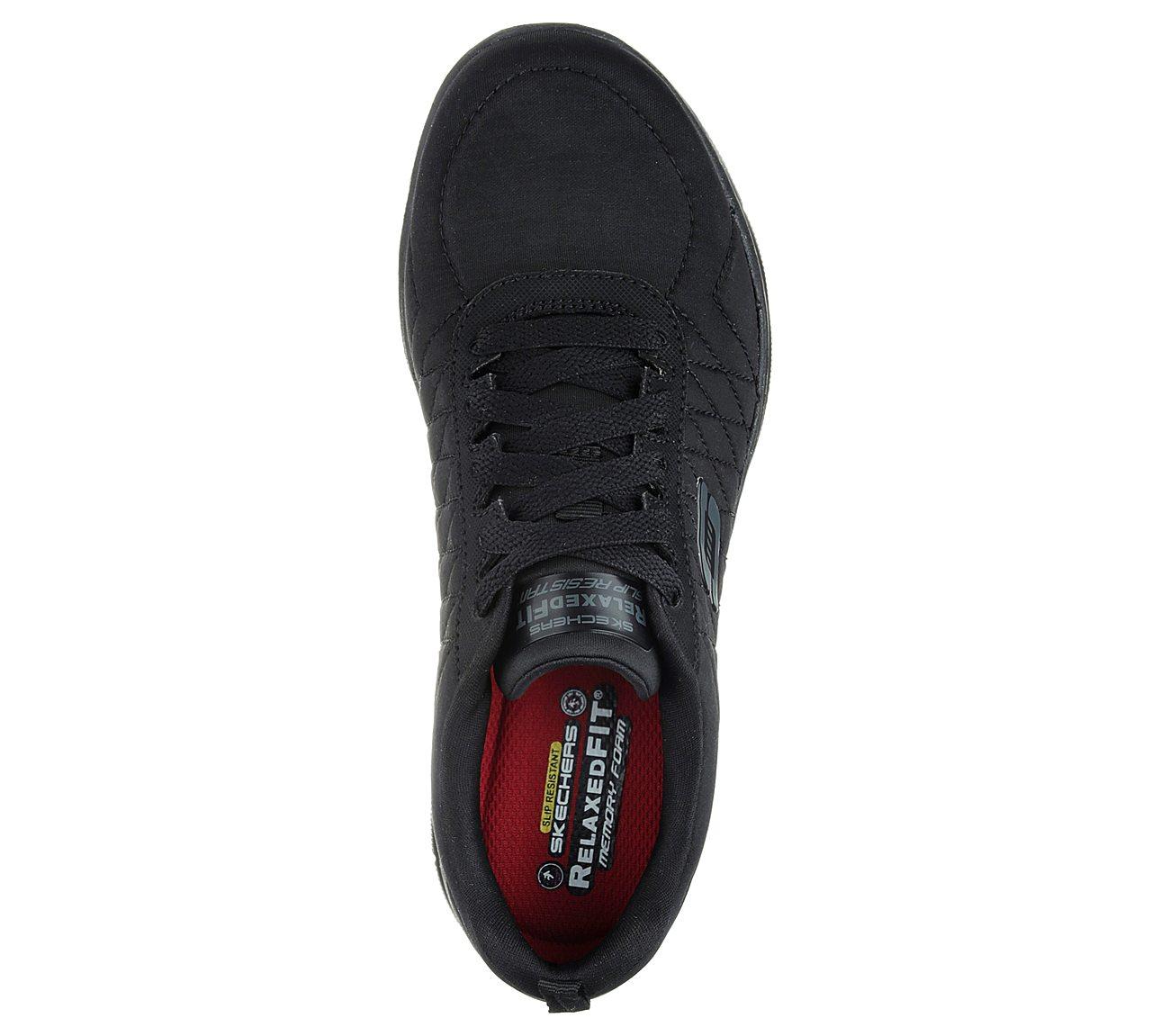 skechers slip resistant shoes with memory foam
