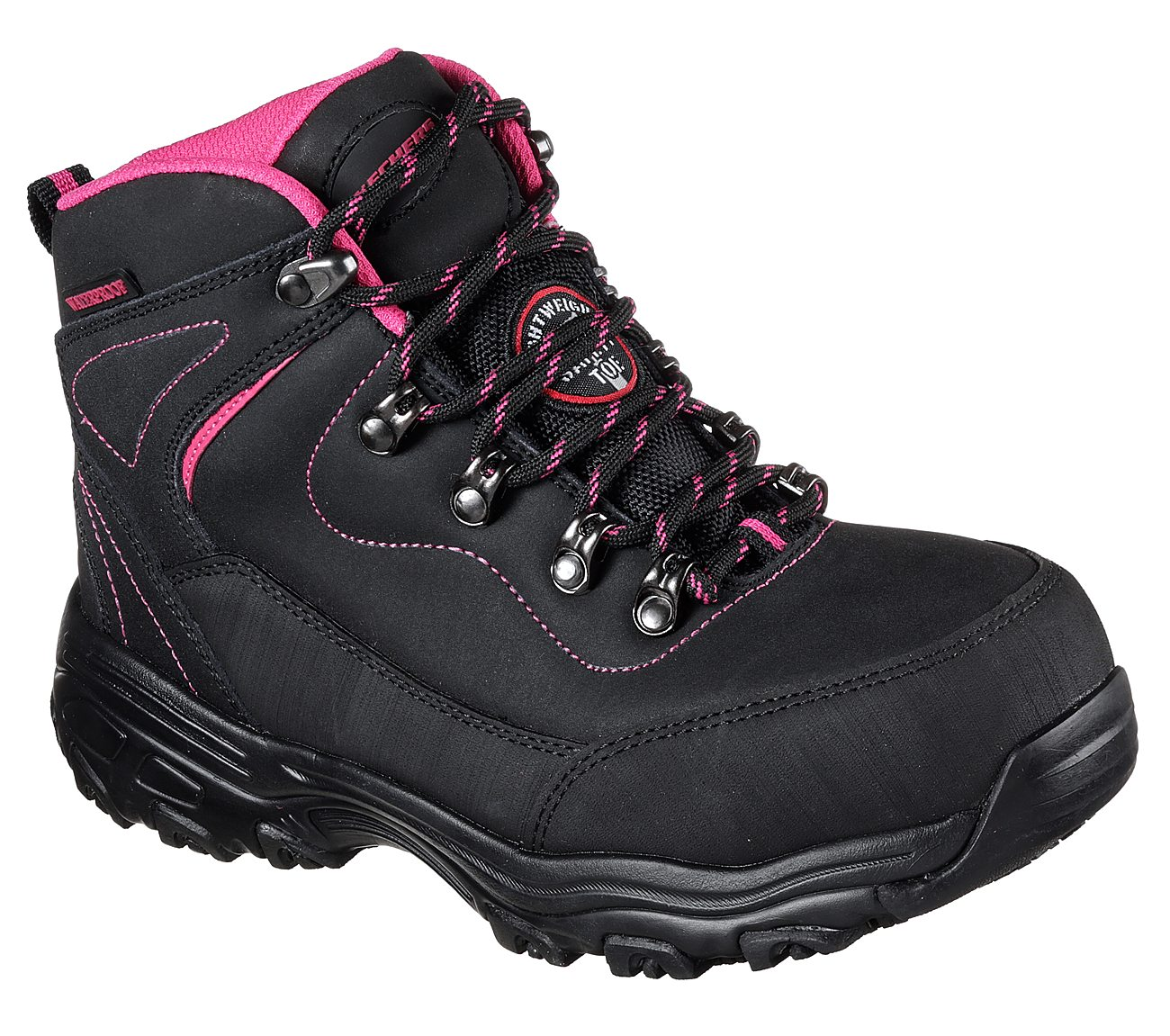 f14cd63934a7 Buy SKECHERS Work  D Lites SR - Amasa Alloy Toe Work Shoes only  92.00