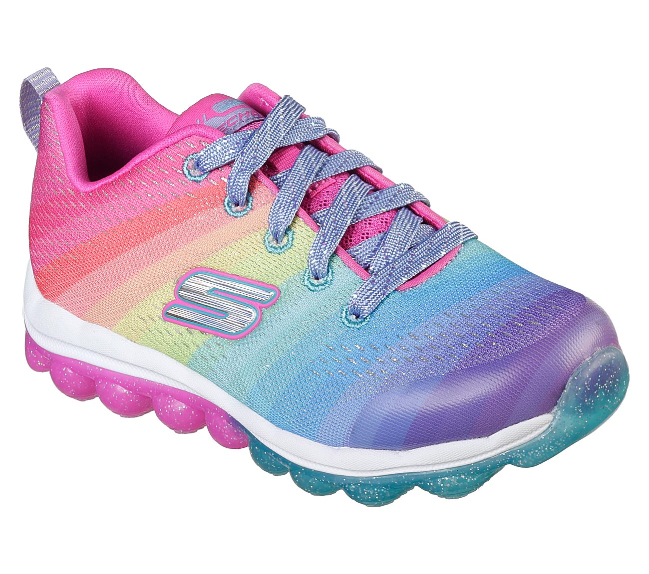 Rainbow Drops SKECHERS Skech-Air Shoes