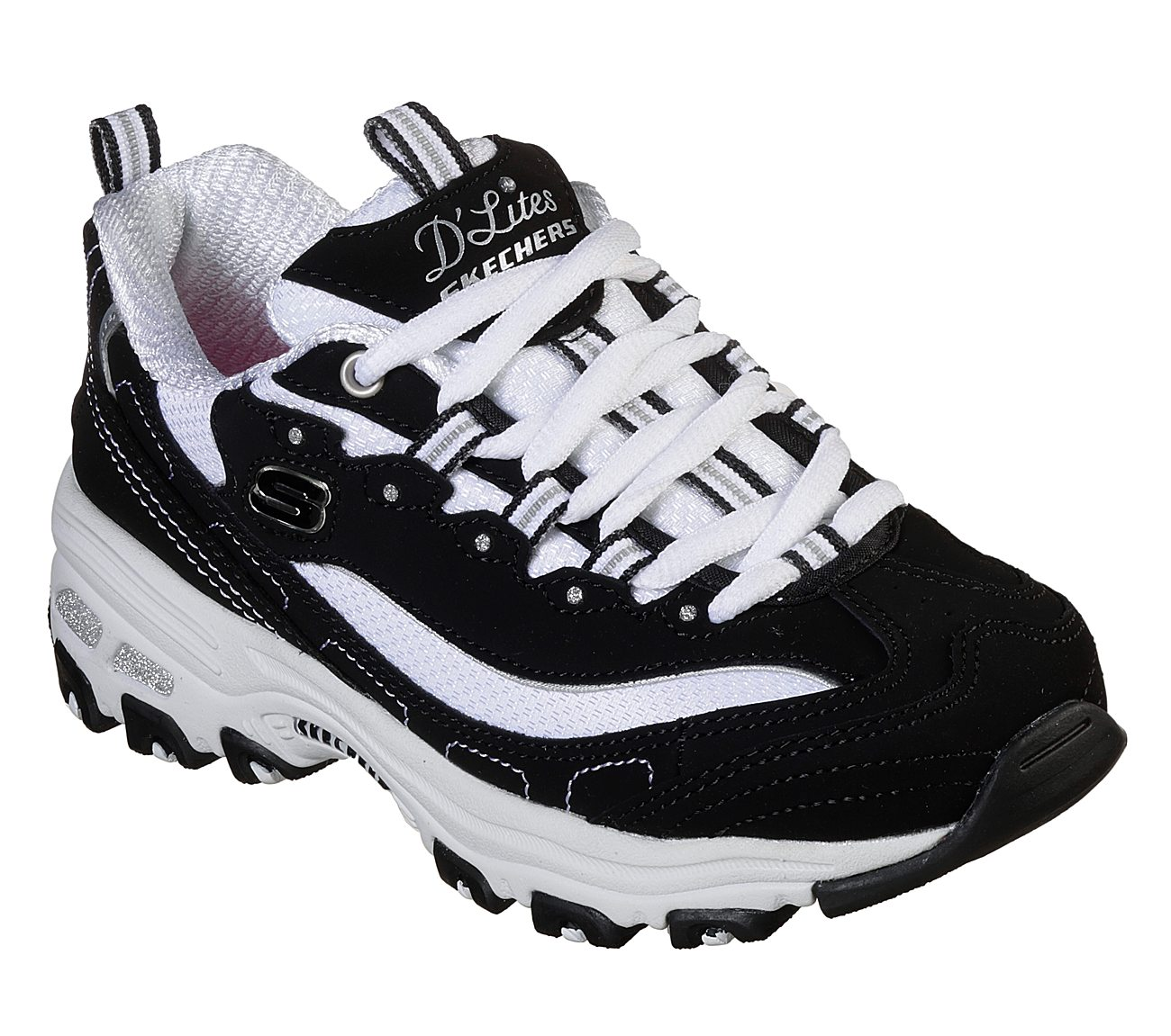 Buy Skechers D Lites Biggest Fan Lace Up Sneakers Shoes